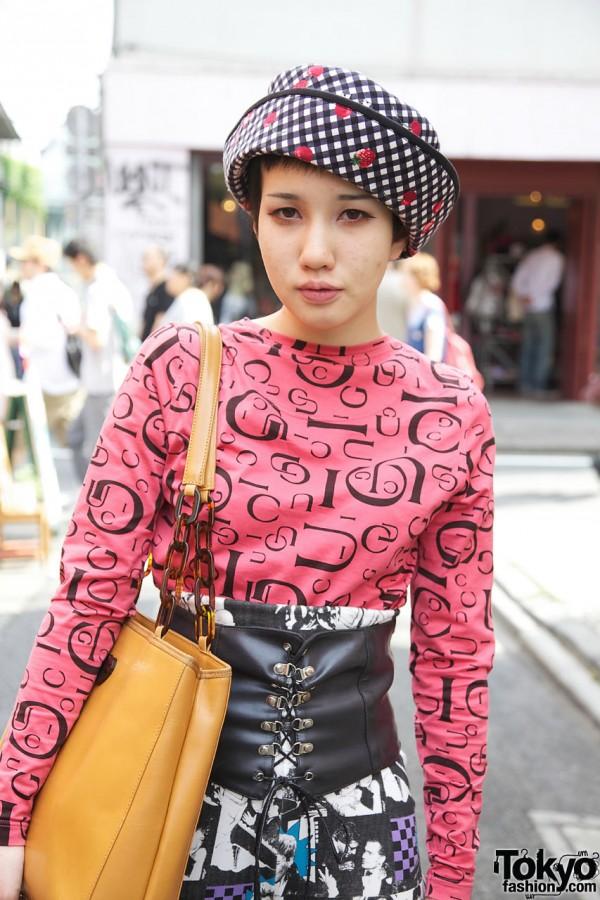 Vintage Gucci in Harajuku