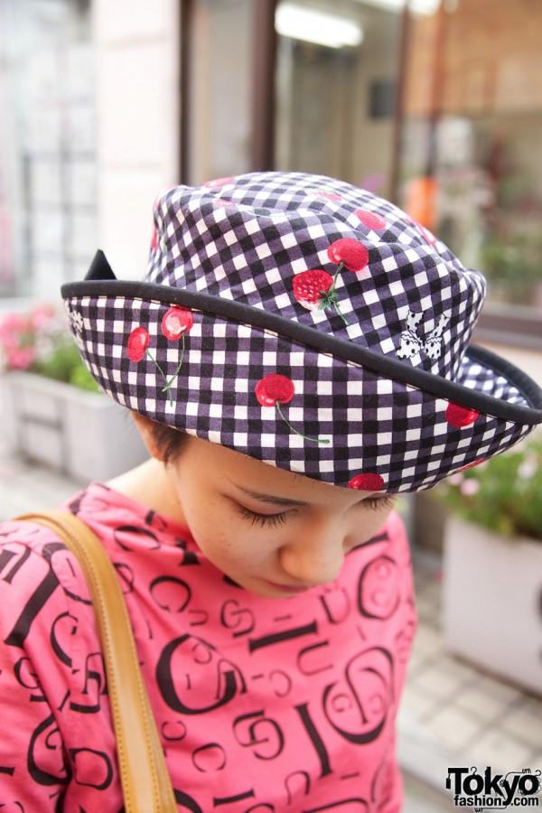 Up-brim Hat in Harajuku