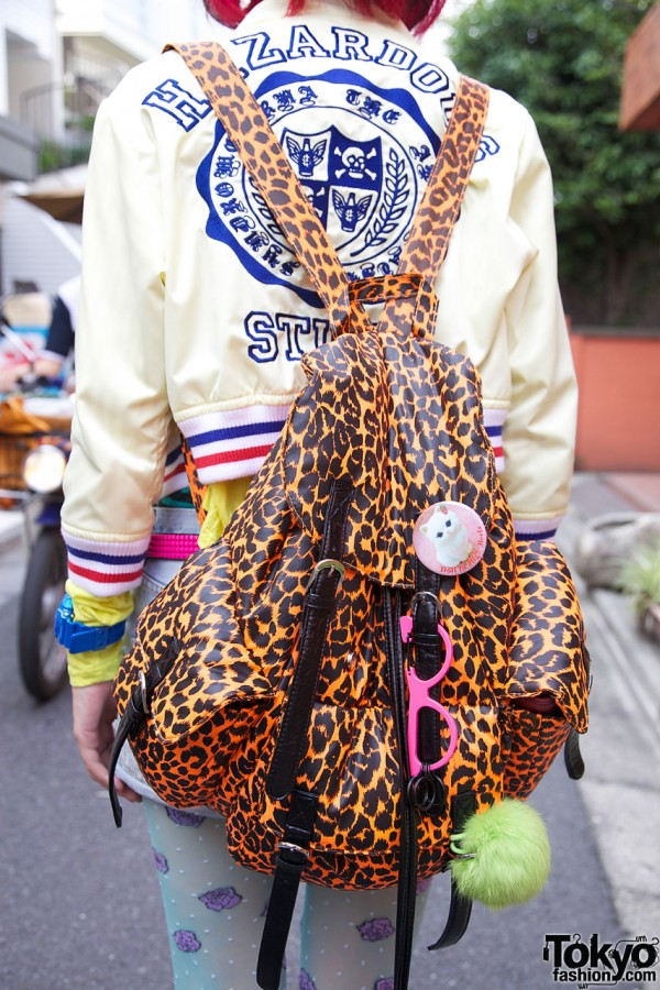 ANAP leopard print backpack