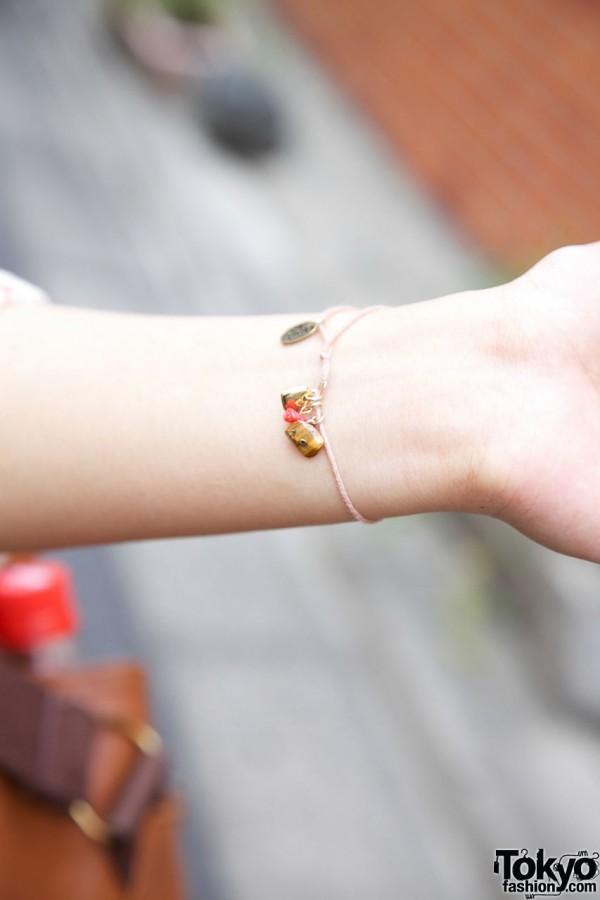 Beams boy charm bracelet