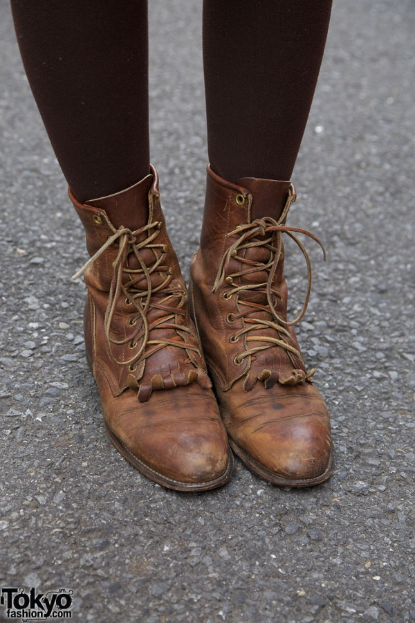 Boots from Popo resale shop