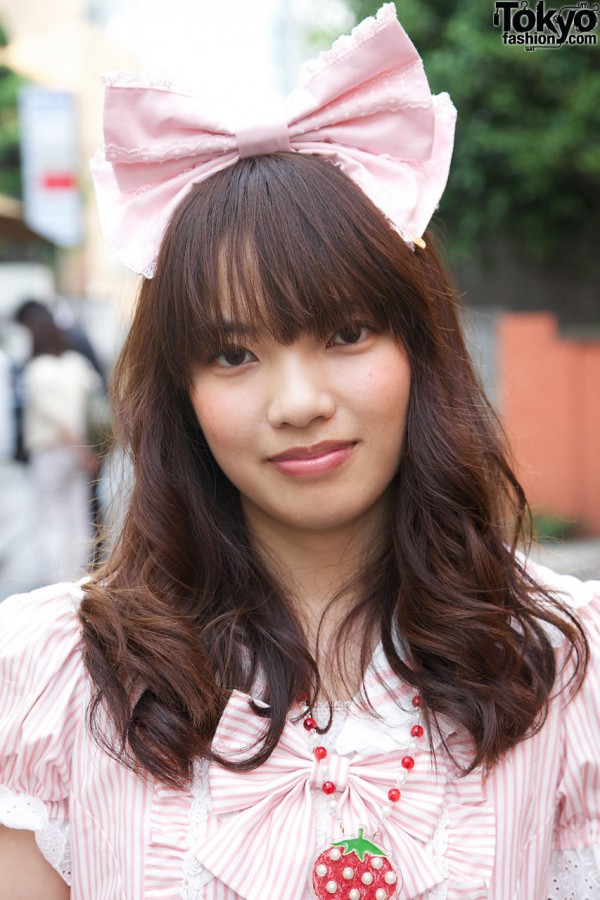 Big Pink Lolita Hair Bow