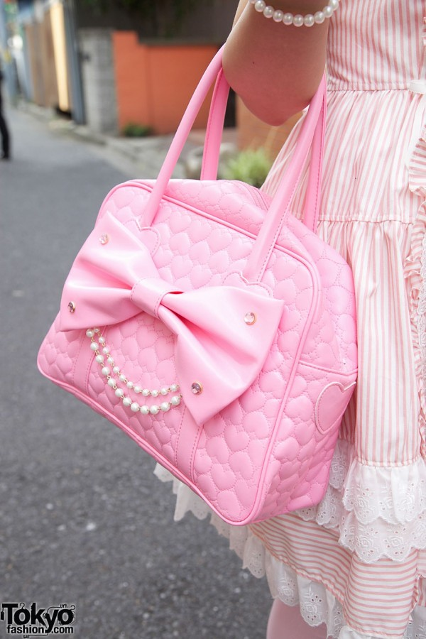 Angelic Pretty Bow Handbag