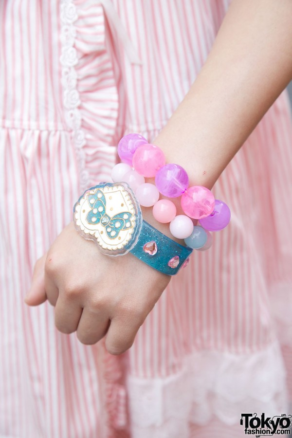 Cute Swimmer Bracelet in Harajuku