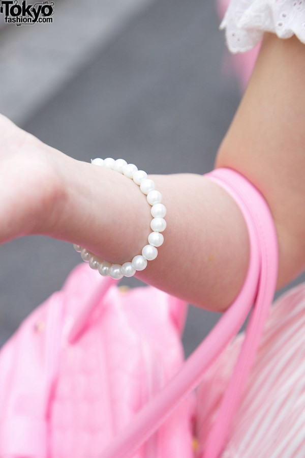 Lolita Pearl or Beads Bracelet
