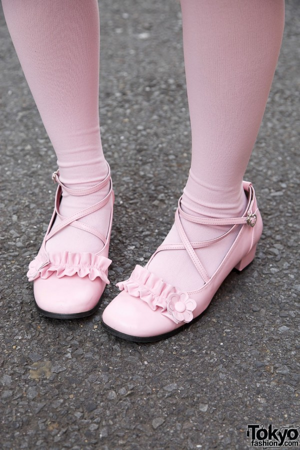Pink Sweet Lolita Shoes