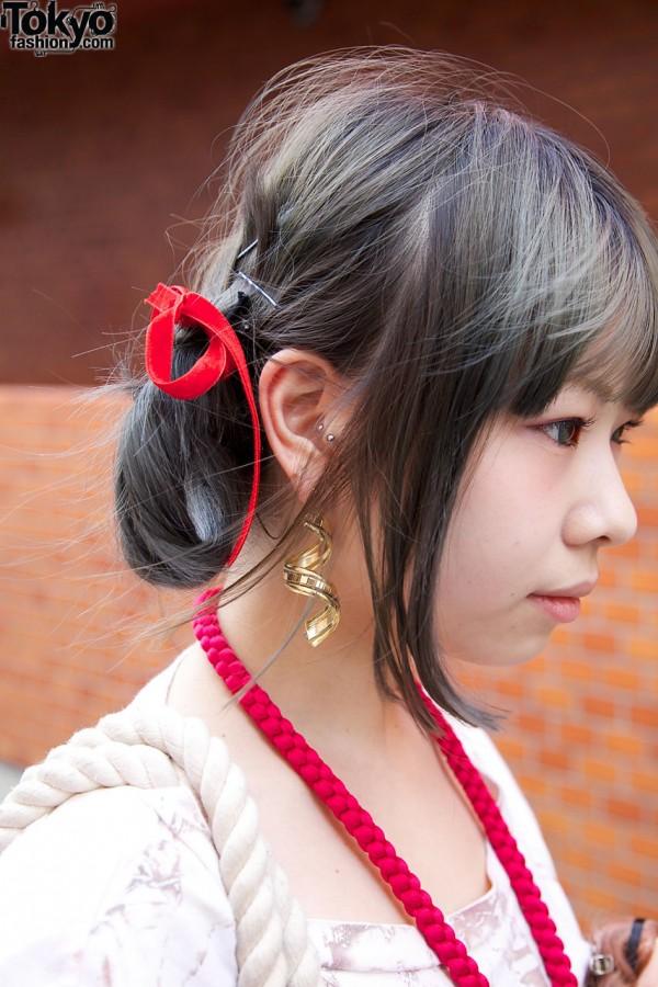 Harajuku Ribbon Hair Bows