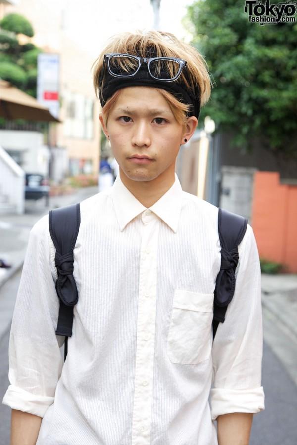 Givency shirt & black head band