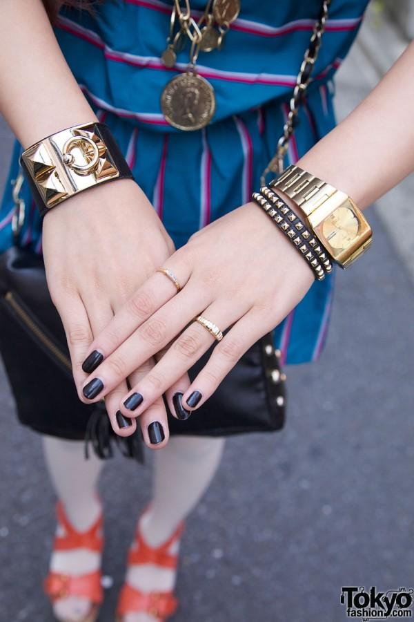 Jouetie Bracelets & Vintage Seiko