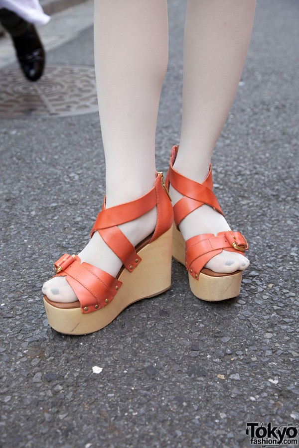 Top Shop Premium Platform Wedges