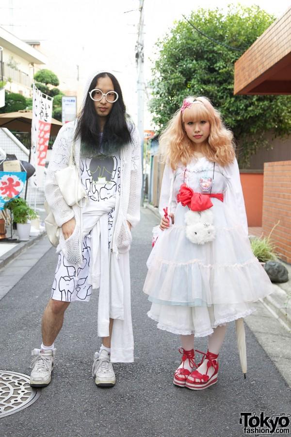 Couple with Kinji Summer Style in Harajuku