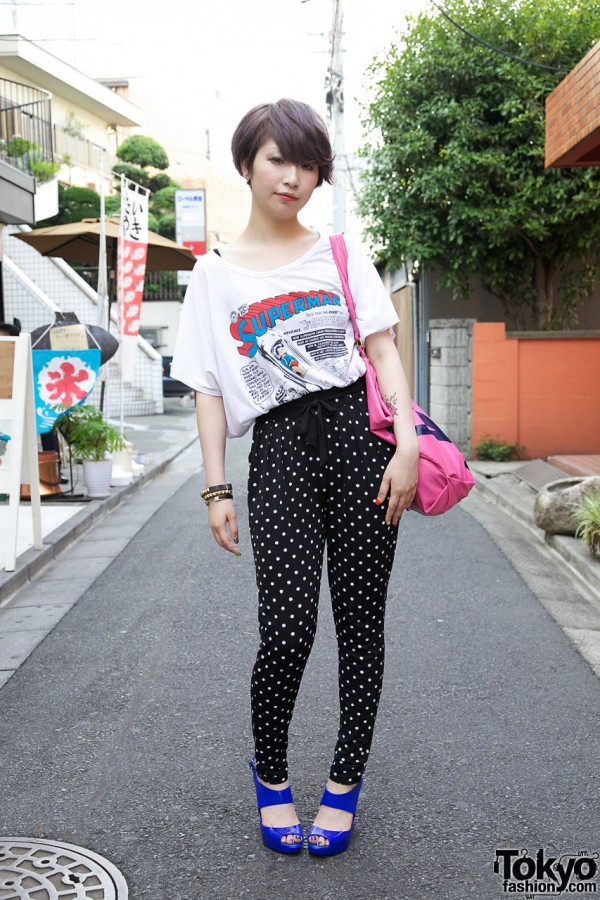Love Drug Store Pants in Harajuku