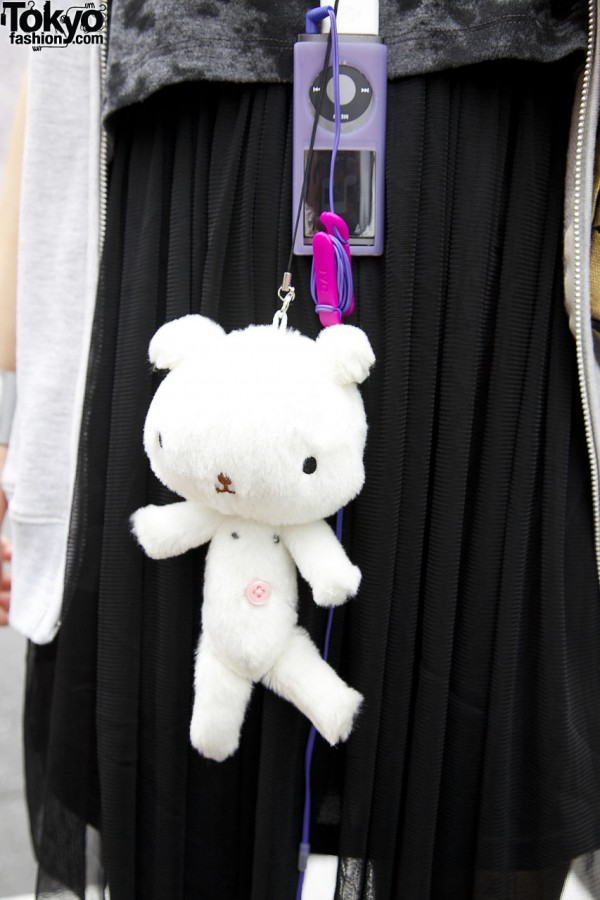 Stuffed toy & MP3 player