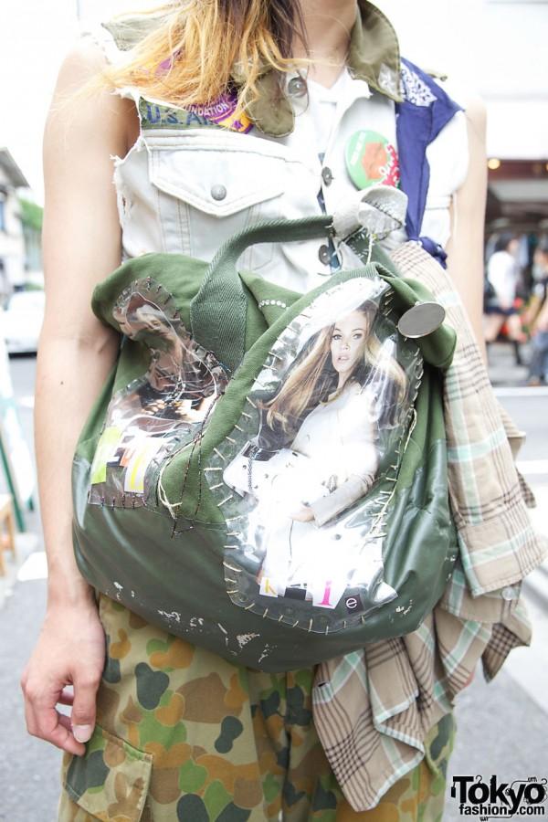 Custom Mens Photo Bag in Harajuku