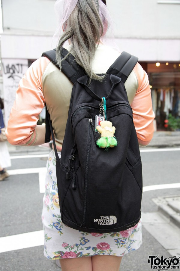 Japanese Girl In Studded Platform Converse Amp Cropped Sukajan