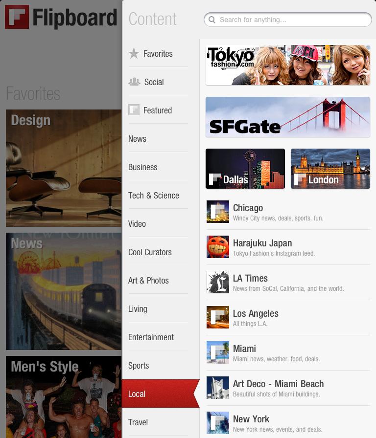 Tokyo Fashion on Flipboard for iPad