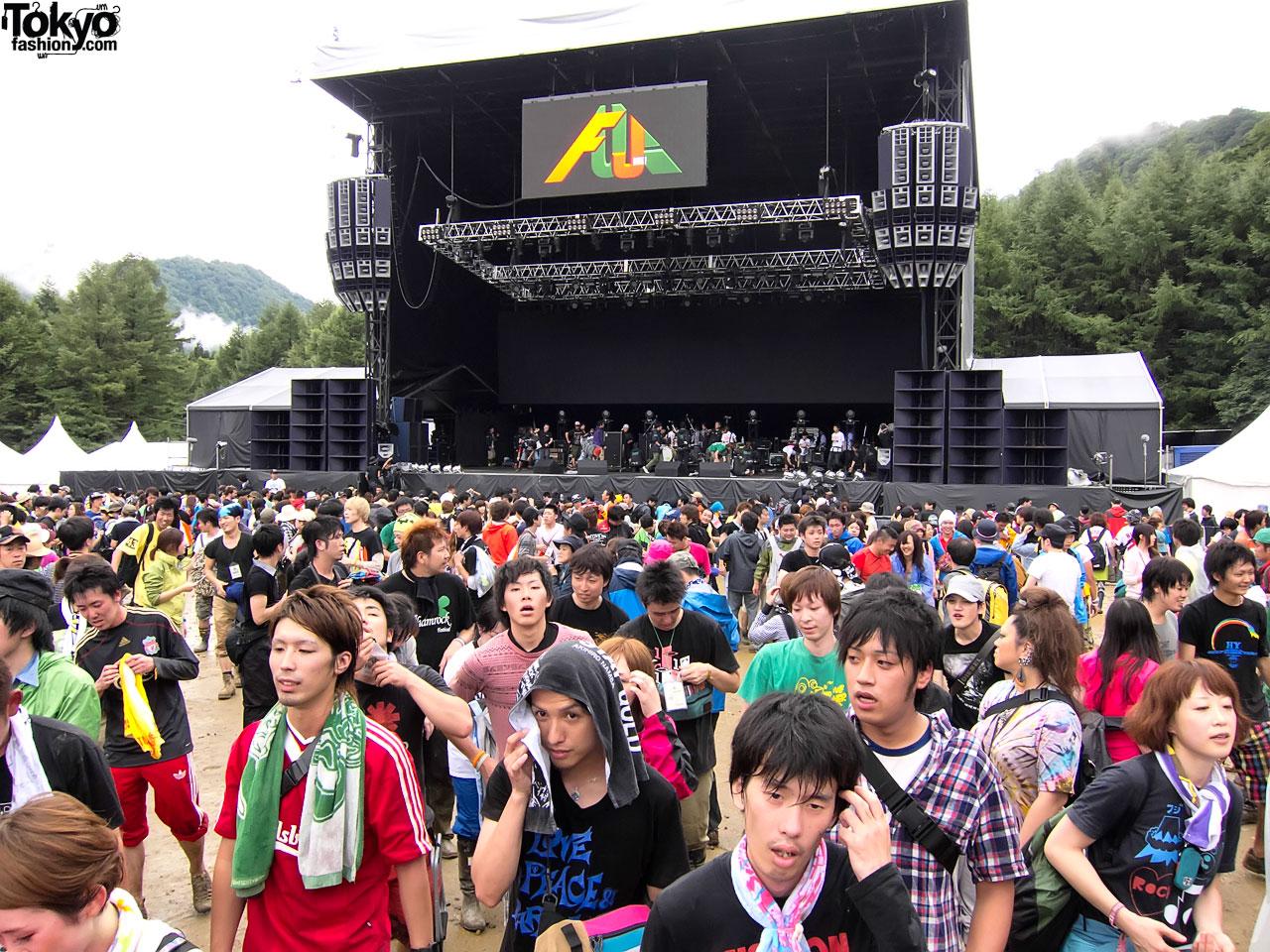 Fuji Rock Festival Tokyo Fashion News