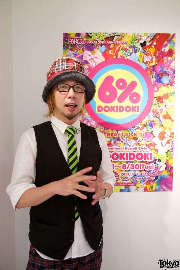 Sebastian Masuda of 6%DOKIDOKI