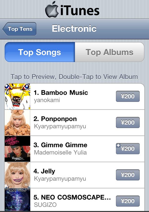 Kyary Pamyu Pamyu PONPONPON iTunes