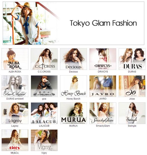 Tokyo Glam Fashion