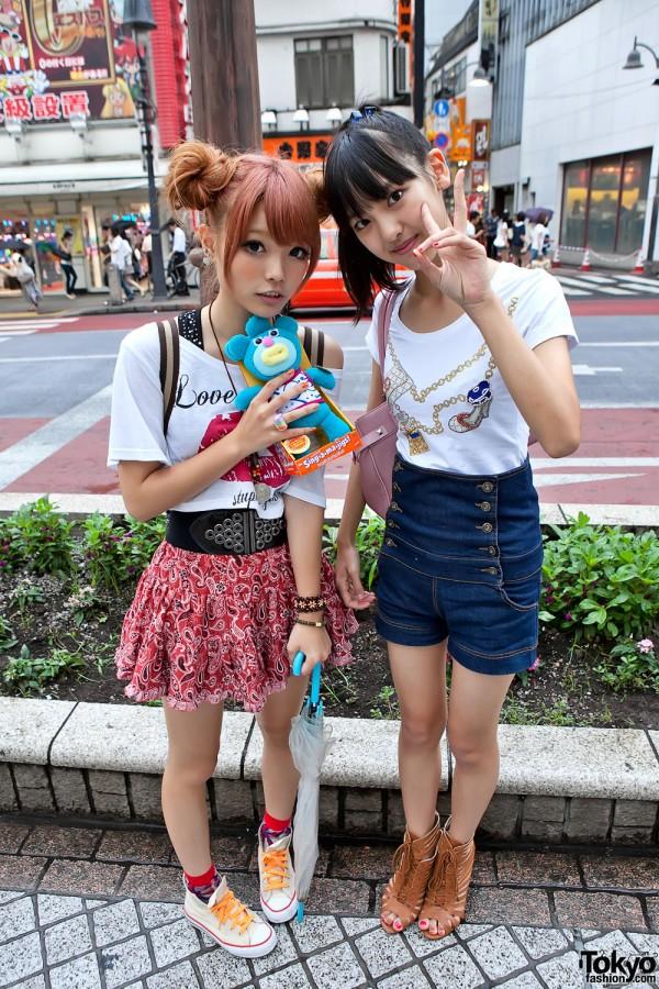 Cute Shibuya Girls & Sing-a-ma-jigs