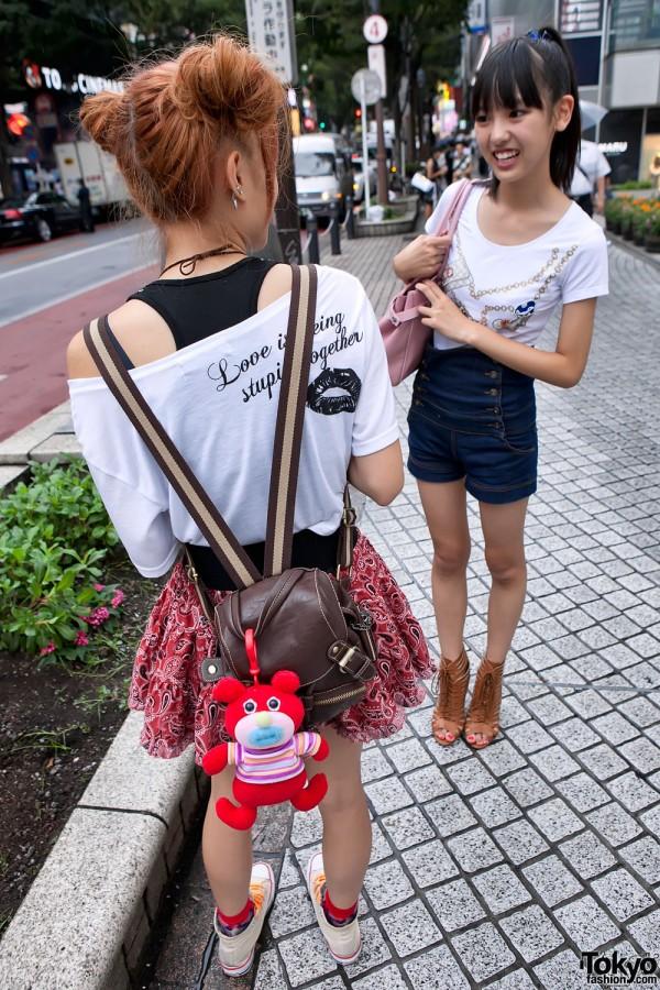 Mini-Backpack & Sing-a-ma-jig in Shibuya