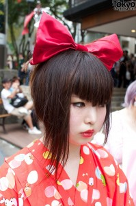 Japanese Asymmetrical Bob Hairstyle