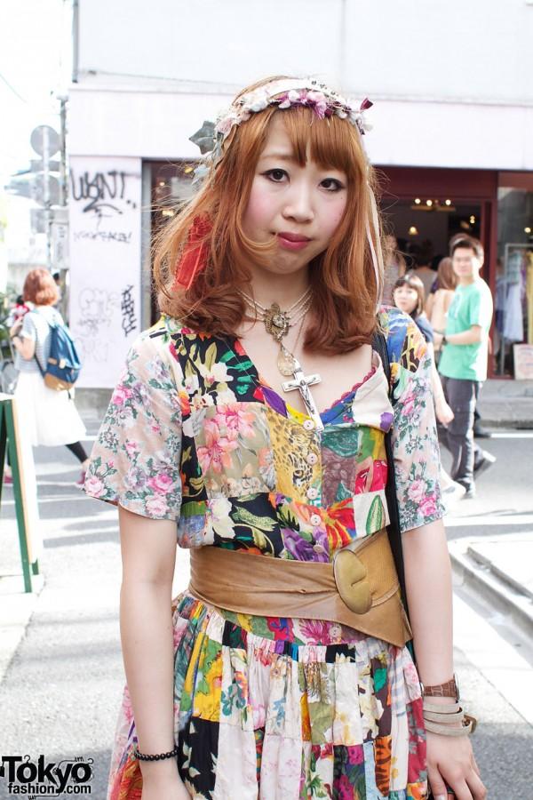 Grimoire Dress in Harajuku