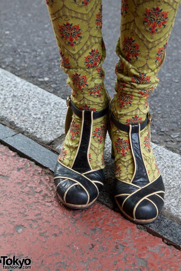 Vintage High Heels in Harajuku