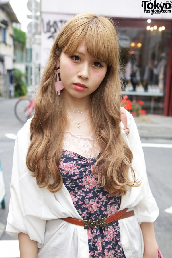 Rosebud shirt & floral ANAP dress