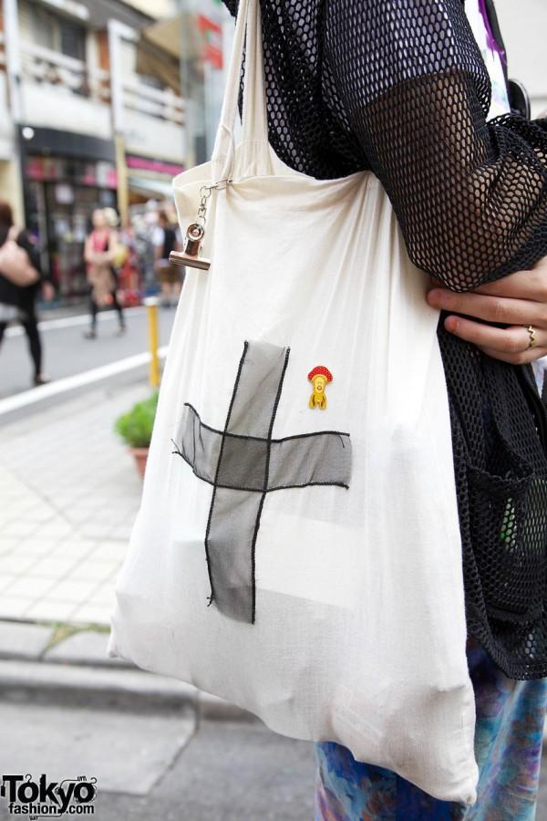 Handmade Cross Bag in Harajuku
