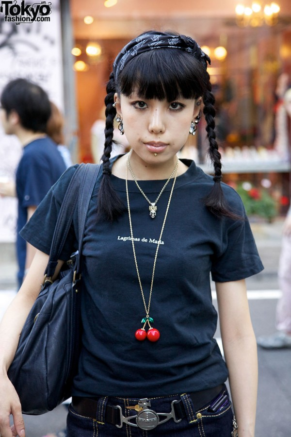 Japanese Girl W Piercings Tattoos Amp Super Lovers X