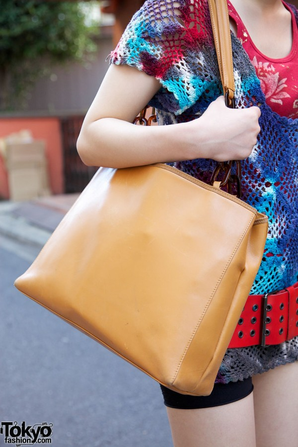 Used leather bag from UTA
