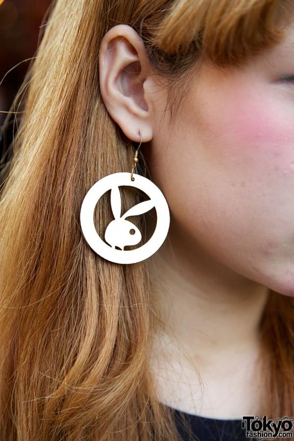 Playboy Bunny earring