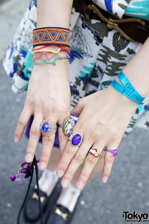 Bubbles rings & bracelets