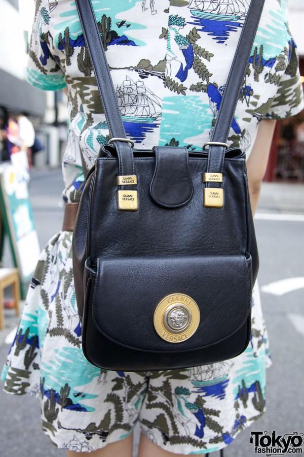 Versace handbag from Bubbles