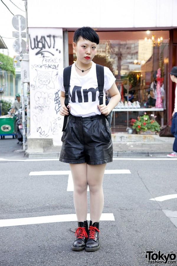 Leather Shorts From Sister Shibuya