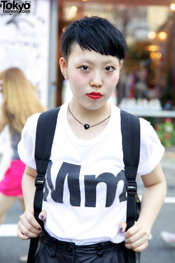 American Apparel T-Shirt in Harajuku