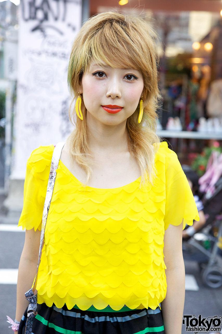 12b2437996dd Bubbles Harajuku Coi w  Prada Platform Brogues   Vintage Skirt