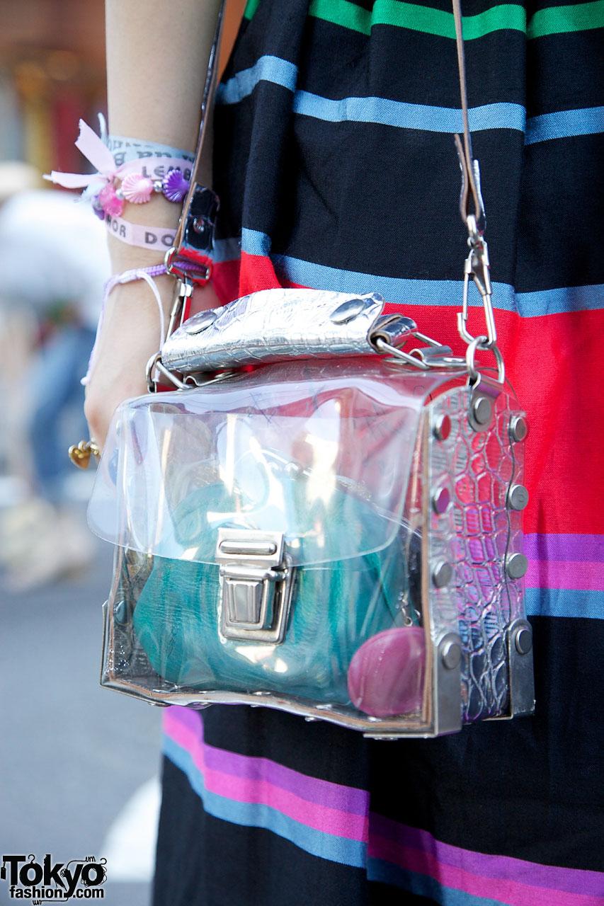 See Through Purse Tokyo Fashion News