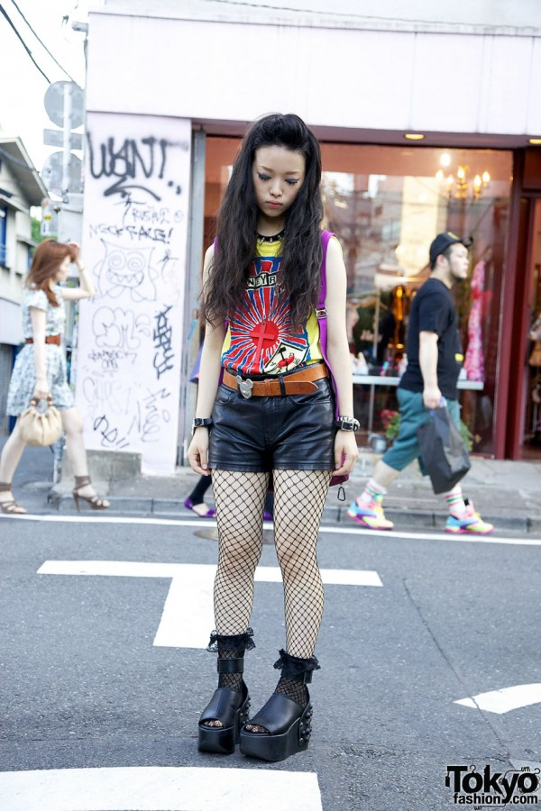Harajuku Punk Street Style Girl