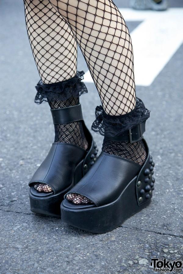 Studded Tokyo Bopper Platform Shoes