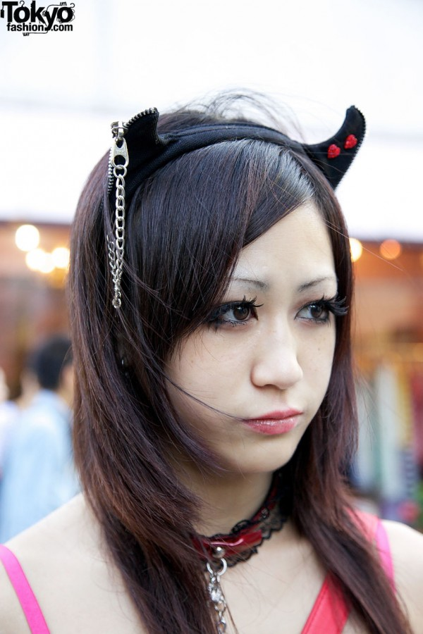 Putumayo Devil Horns Hair Accessory