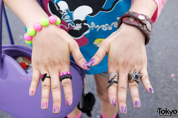 Rings & Bracelets in Harajuku