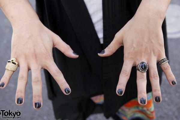 Skull Ring in Harajuku