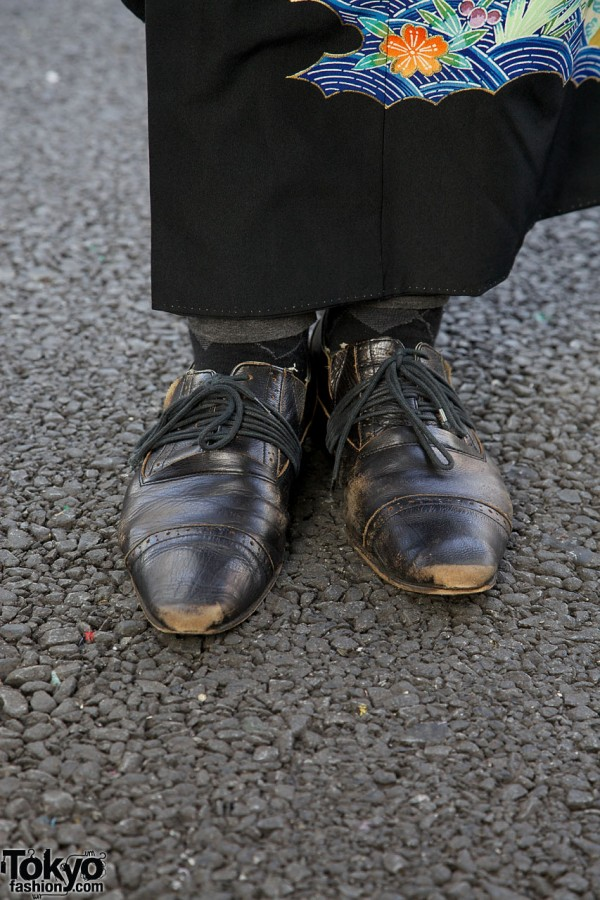 Pointy Dress Shoes in Harajuku