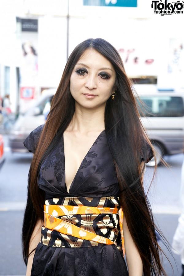 Japanese Kimono-inspired Dress