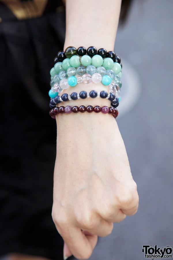 Bead Bracelets in Harajuku