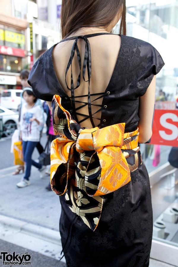 Japanese Kimono Inspired Dress