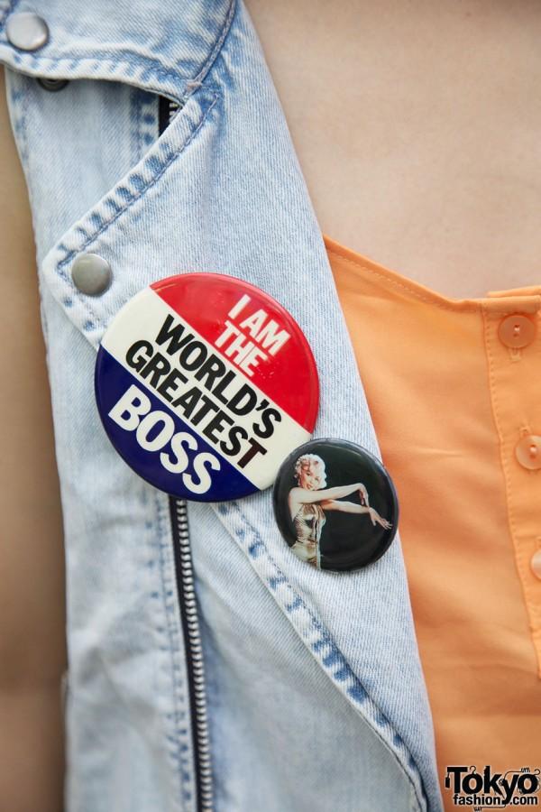 World's Greatest Boss pin
